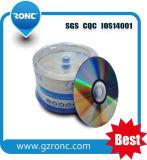 14 años de la fábrica de CD-R DVD-R del espacio en blanco con la muestra libre