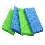 L'éponge de cellulose colorée, emploient extensivement, consommation quotidienne, nettoyant l'éponge