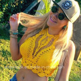 Crochet Bra Beach Halter Top Crocheted Festival Hippie Top Bras