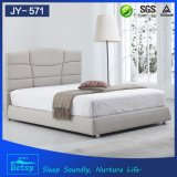 새로운 형식 인도 목제 2인용 침대는 튼튼하고와 편리한 디자인한다