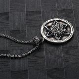 De Juwelen van de Halsband van de Mensen van het Roestvrij staal van het Titanium van de Ontwerper van de Manier van de Tegenhanger van het Begin van Solomon