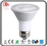Iluminación ahorro de energía 7W Dimmable de la MAZORCA PAR20 LED con la aprobación de la estrella de la energía de ETL