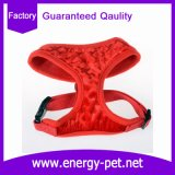 Neuf obtiennent le produit rouge d'animal familier de gilet de harnais de crabot pour Noël fournisseur
