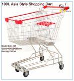 100L Estilo Ásia Carrinho de Compras