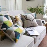 Erschwingliche Baumwolldekorative Akzent-Leinenkissen für Couch-Dekor