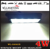 Piloto de la pista de la luz del montaje de la superficie de 4 LED