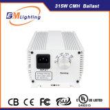 Iluminación hidropónica 315W CMH Balasto electrónico para plantar la tienda de campaña