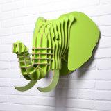 寒帯のヨーロッパ様式の独創性象の動物の創造的なホーム装飾のハング壁の芸術