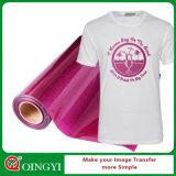 Prezzo basso della fabbrica di Qingyi e grande vinile di trasferimento di scintillio di qualità per la maglietta