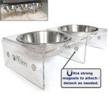 أكريليكيّ مغنطيسيّة محبوب مغذية, كلب/قطع مغذية [قابل للربط/قابل للفصل]