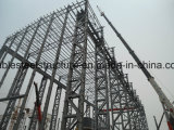 高い高さのプレハブの軽い鉄骨構造の建物