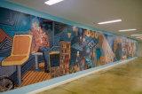De Zelfklevende Afgedrukte Muurschilderingen en het Behang van uitstekende kwaliteit van de Muur van de Douane