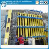 Molde concreto da parede do metal para a construção diferente da forma