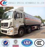 carros de salida de gasolina y aceite del tanque de acero de carbón de 8X4 35000liters