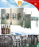 Máquina de engarrafamento de vidro do licor automático da cerveja do vinho da vodca da bebida alcoólica