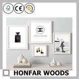 Rustikaler hölzerner Abbildung-Foto-Rahmen-Plakat-Rahmen für Salon-Dekoration