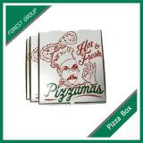 Caixa ondulada feita sob encomenda barata da pizza do produto comestível da cópia