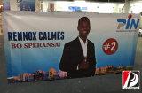 Banner en plein air Bannière en plastique Bannière Flex personnalisée (VIN-06)