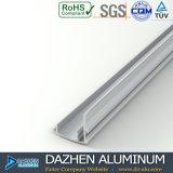 6063 T5 het Profiel van de Uitdrijving van het Aluminium voor het Profiel van de Deur van het Venster van Algerije