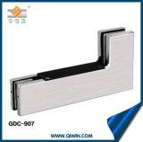 Eckschelle-Aluminiumschelle für Glastür