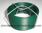 中国の直接工場供給PVC網の編むことのための上塗を施してあるWire/PVCによって塗られる電流を通された鉄ワイヤー