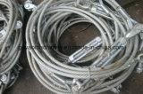 Гальванизированный слинг веревочки провода с тандером