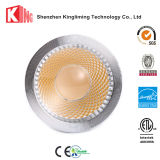 PAR16 LED 2700k 5W 7W calientan la lámpara blanca del tornillo de Dimmable
