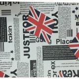 Faux Leder gedrucktes Belüftung-PU-Leder für Handbeutel, Sofa