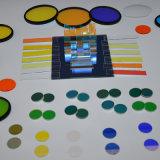 silicone fundido de filtros óticos de 550nm Longpass para instrumentos