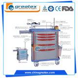 Carro médico de tratamento de anestesia de ABS (GT-2813)