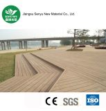 Decking extérieur matériel vert de plancher du stationnement WPC