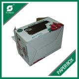 Изготовленный на заказ коробка бумаги печатание упаковывая для Takeaway клубники