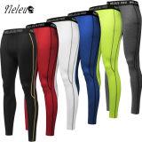 Gli uomini di Neleus mettono i pantaloni in cortocircuito Dk6027 delle ghette dei vestiti di yoga di usura di forma fisica