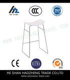 新しいプラスチックはボードのハードウェアのフィートの椅子-白坐らせる