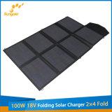 Nuovo prodotto 100W 18V che piega il popolare solare del caricatore 2X4 da vendere