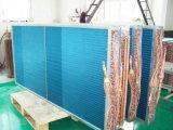 Condensador de barbatana de alta eficiência para sistema de refrigeração