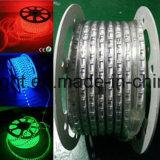 Blanco caliente ETL 60LED de la luz de tira de la flexión 50m/Roll LED 5050