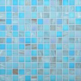 Het blauwe Mozaïek van het Zwembad van Mosaico van het Mozaïek van het Glas Chinese Goedkope
