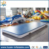 Producto inflable modificado para requisitos particulares, pista de aire inflable para la gimnasia