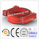 ISO9001 / Ce / SGS High Effeciency Deux Worms Slew Drive