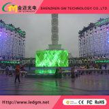 Schermo di visualizzazione anteriore del LED di Digitahi di elettronica di servizio di pubblicità esterna, P8mm