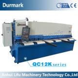 Tipo de corte da máquina QC12k-6*3200 Nc do aço suave