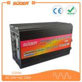 Suoer 1500W 24V 220V outre d'inverseur de pouvoir de réseau avec le chargeur (HAD-1500D)