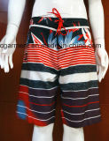 A placa de ressaca floral da cópia Shorts o Beachwear do Swimwear para homens