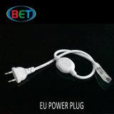 conector medio impermeable de neón del cable de extensión de la tira del enchufe LED de 220/110V ETL