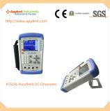 휴대용 마이크로 옴 미터 소형 DC 저항 미터 (AT518L)