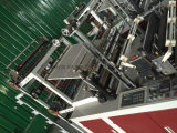 Heat-Sealing da única etapa e maquinaria do saco de plástico da Calor-Estaca