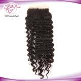 Encierro completo de la parte de la onda del cordón profundo verdadero libre del pelo humano