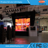 Tablilla de anuncios de interior fija a todo color de LED P4