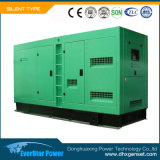 Дизель генератора Genset звукоизоляционного производства электроэнергии молчком электрический производя установленный